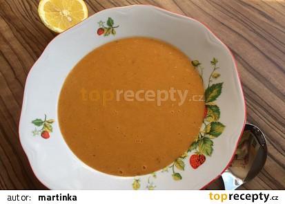 Shurbet el-Ads (Egyptská polévka z červené čočky)