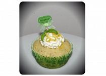 Bazalkovo citronové muffiny / cupcaky