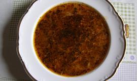 """Polévka z hlívy á la """"dršťkovka"""""""