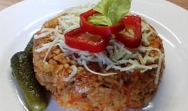 Srbské rizoto z mletého masa