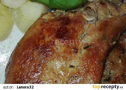 Taťkovo pečené kuře s nádivkou