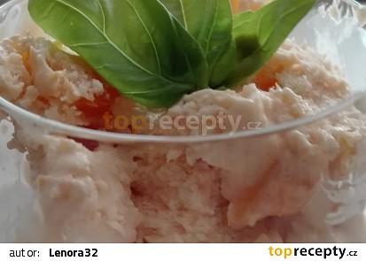 Zmrzlina ze zavařených meruněk