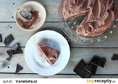 Čokoládový dortík se sametovým čokoládovým mascarpone krémem