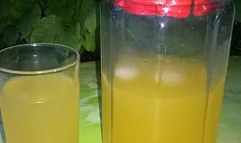 Domácí pomerančová limonáda pro osvěžení