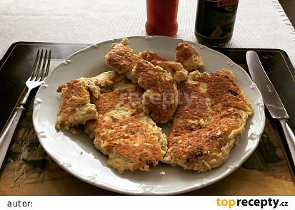 Humusová omeleta podle Eduarda