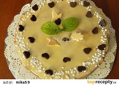 Jednoduchý nepečený cheesecake