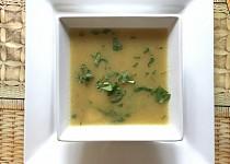 Krémová zeleninová polévka s majoránkou