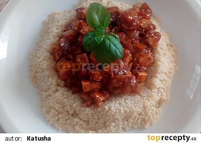 Kuskus s tofu a zeleninou