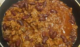 Mleté maso s mexickými fazolkami