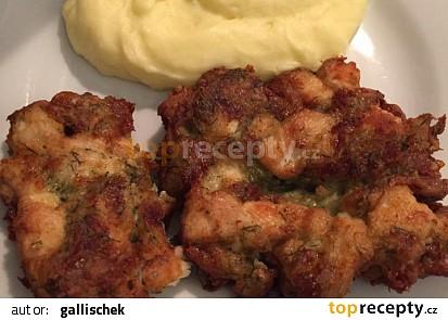 Nakládané kuřecí řízky