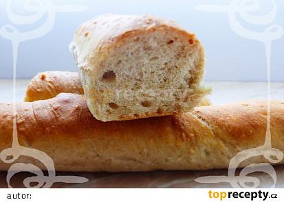 Pšeničné bagety se sezamem