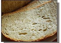 Pšeničný chleba s dvoustupňovým kváskem poliš