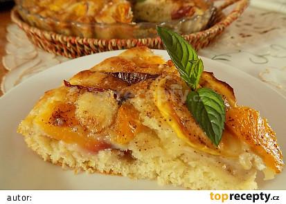 Rychlý koláč s míchaným ovocem