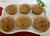 Brusinkovo-semínkové muffiny