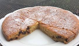 Cuketový hrníčkový koláč s brusinkami a hořkou čokoládou podle Eduarda