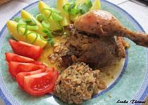 Kuře s kešu nádivkou