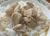 Kuřecí maso s rýží