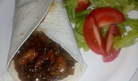 Labužnická směs v tortille