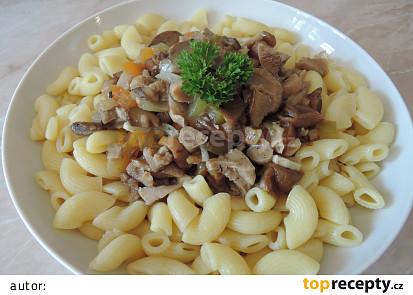 Švýcarské houbové ragú