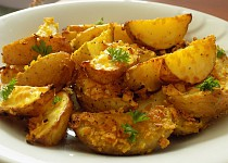 Brambory pečené v cornflakes