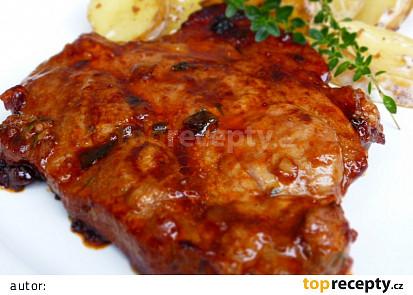 Česnekovo-medová marináda na maso