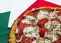 Cuketová pizza přirozeně bezlepková