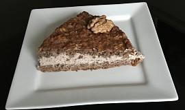 Jablečno-oříškový koláč