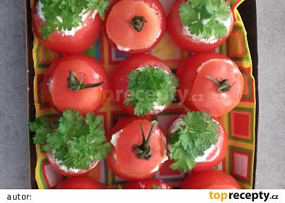 Plněná nivová rajčátka