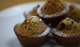 Recept na rychlé muffiny s kousky čokolády