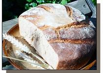 Špaldový podmáslový chléb z trouby