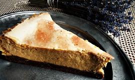 Tvarohovo-dýňový koláč se skořicí a ořechy