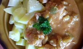 Zeleninová směs s kuřecím masíčkem