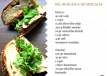 Big Burger s hummusem