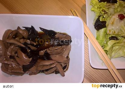 Čínské marinované ledvinky