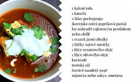 Kimchi polévka s tofu