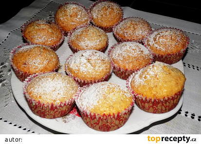 Ovesné muffiny s brusinkami