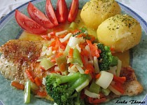 Pangasius v zelenině