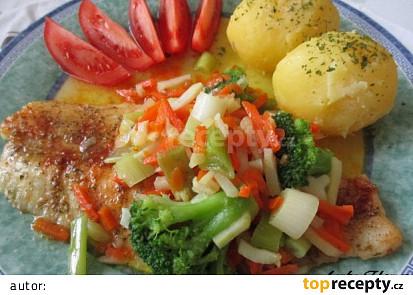 Panganius v zelenině