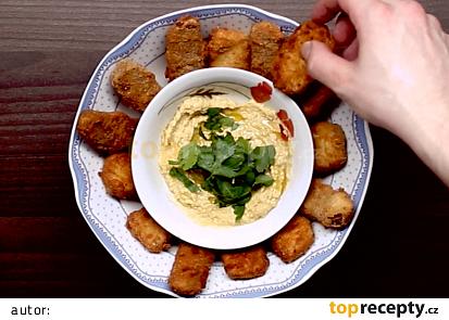 Tempeh, tofu a hummus