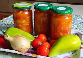 Zeleninové lečo ze zahrádky