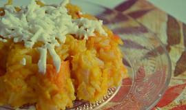 Dýňové rizoto s himalájskou solí