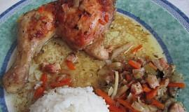 Kuře à la  bažant podle Lenky