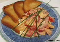 Lenčin zeleninový salát s majonézou