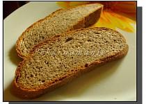 Třízrnný chleba s pohankou a kváskem
