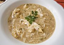 Zasmažená kmínová polévka