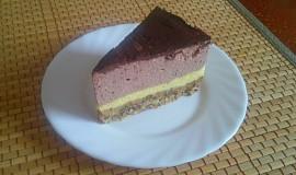 Čokoládový keto bezlepkový cheesecake