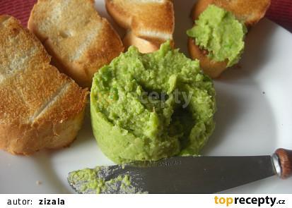Hummus s hráškem