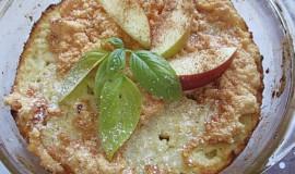 Jablečný rýžový nákyp