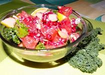 Ovocný salát s kadeřávkem