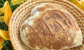 Světlý pšenično-žitný chléb (list)